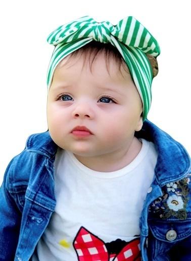 Baby Giz Bandana Yeşil